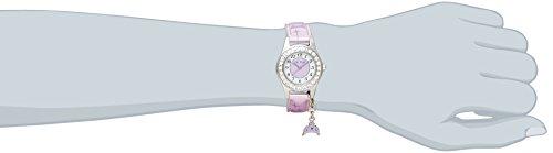 [カクタス]キッズ腕時計チャーム付CAC-71-L09正規輸入品パープル