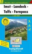 Freytag Berndt Wanderkarten, Imst, Landeck, Telfs, Fernpaß (Walking Maps)