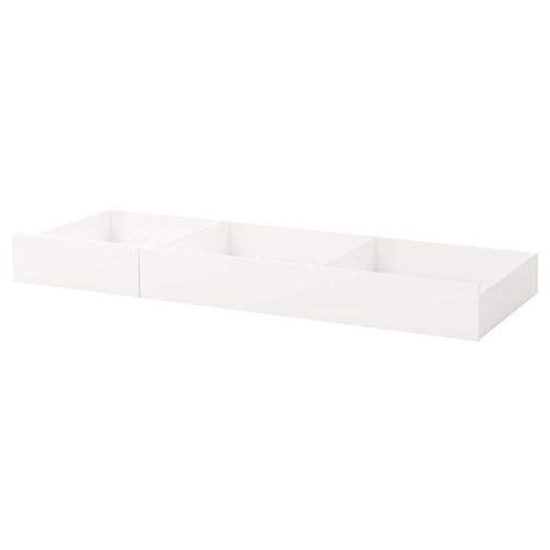 IKEA ASIA SONGESAND - Caja de almacenaje para Cama (2 Unidades), Color Blanco