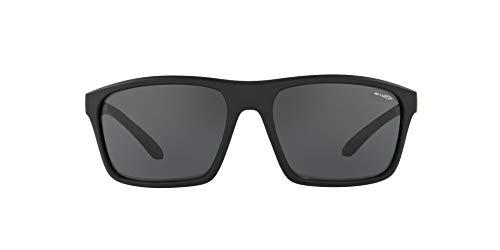 ARNETTE Sandbank gafas de sol, Black Rubber, 61 para Hombre