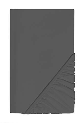 SCHLAFWOHL SILVER Spannbettlaken 160x 200 cm Öko-Tex Standard 100 Zertifiziert •...