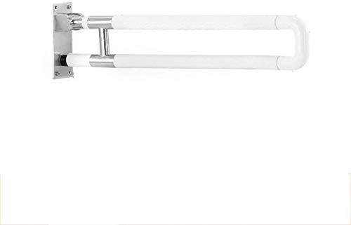 ZHIFENCAO Asa de Seguridad Baño Caja Plegable Barra de sujeción, 304 de Acero Inoxidable Carril carriles mejoradas, de 75 cm de Largo, Conveniente for los baños de Ducha
