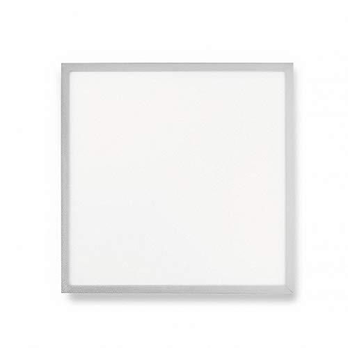 Mextronic Lámpara colgante LED, panel de 62 x 62, 50 W, 6500 lm, 860, color blanco