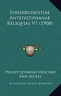 Ivrisprvdentiae Anteivstinianae Reliqvias V1 (1908)