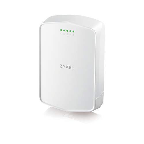 Zyxel 4G LTE-outdoor router met simslot zonder simlock, 150 Mbit/s LTE-A, geen configuratie vereist, IP56 [LTE7240]