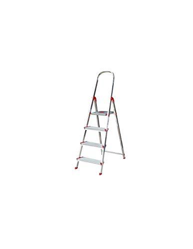 Escalera Rolser Aluminio Norma 220 4 Peldaños anchos