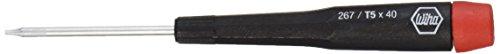 Wiha 96705 Torx Screwdriver with Precision Handle, T5 x 40mm