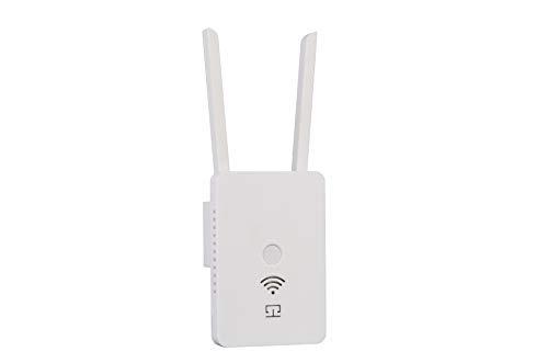 ACHICOO - Amplificador WiFi Pro 300 Mbps repetidor WiFi WiFi extensión de Cobertura de señal repetidor 2,4 G Mi Router inalámbrico