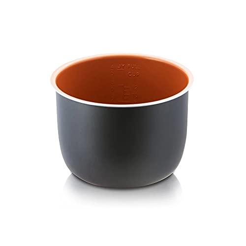 MakeCuisine – Cubeta Recubrimiento Cerámico para olla TOPCHEF 2 en 1. Apta para ollas programables de 6 litros