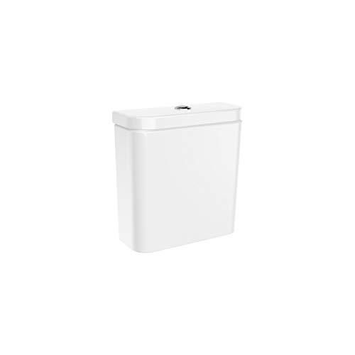 Tanque completo The Gap Round de doble descarga 4,5/3 litros con alimentación inferior para inodoro, 36,5 x 15 x 39 centímetros, color blanco (Referencia: A3410N0000)