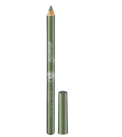 alverde NATURKOSMETIK Kajal Eyeliner Grün 04, 1 x 1,1 g