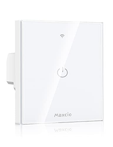 Interruptor Inteligente Maxcio Luz Compatible con Alexa