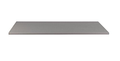 Einlegeboden breit, Silber, Grau Dekor