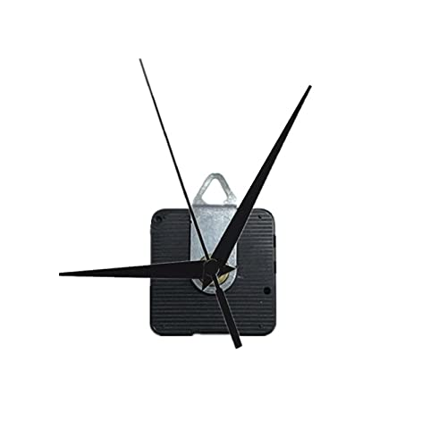 Clock Movement Mechanism with Chime - 100sets Silent Sun12888 Clock Movement with Hand 8mm 12mm 14mm 17mm 20mm 24mm Wall Clock Mechanism Parts Kit DIY Clock Parts, (17mm 9.5mm)