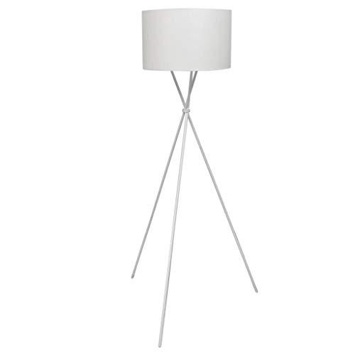 vidaXL Stehlampe Weiß Stehleuchte Lampe Wohnzimmerlampe Standleuchte Leuchte