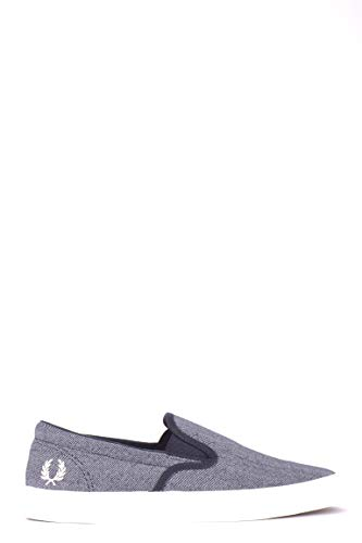 Luxury Fashion | Fred Perry Hombre MCBI35139 Azul Zapatillas Slip-On | Temporada...