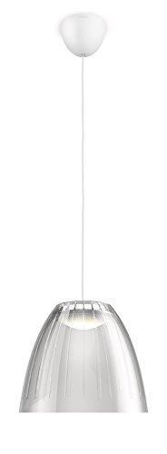Philips - Suspension LED Tenuto grise - LED intégrée 4,5W (40W) - Luminaire d'intérieur