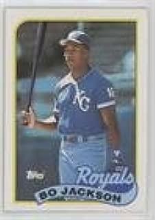 Bo Jackson (Baseball Card) 1989 Topps - [Base] #540