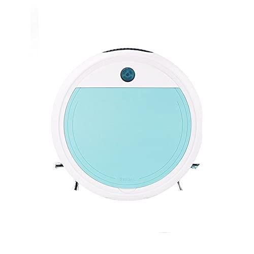 Aspiradora robótica, Robot de Limpieza de Suelo UV, máquina de Barrido de Suelo, aspiradora eléctrica anticaída, colector de Polvo, colector de Polvo,Azul