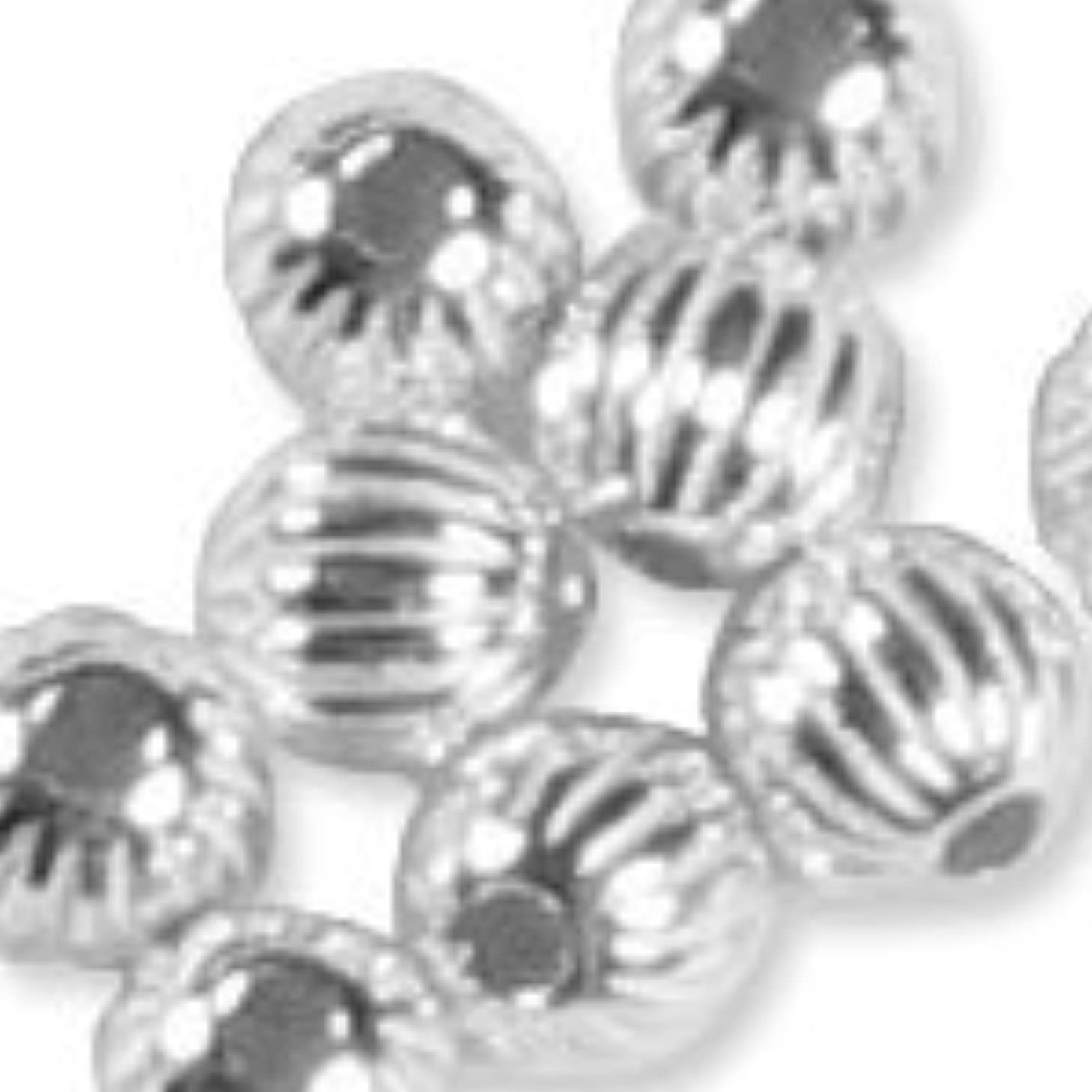 4mm Sterling Silver Round Beads