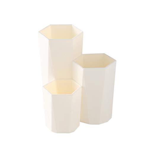 PING 3 Caja de almacenamiento de cosméticos de maquillaje cepillo de cosméticos soporte de esmalte de uñas caja de almacenamiento de cosméticos herramientas de maquillaje