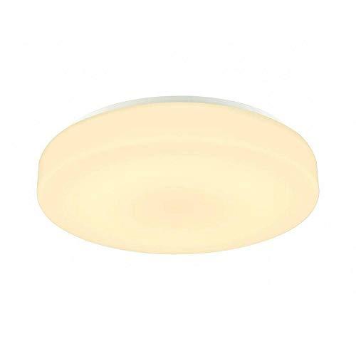 SLV Lipsy 50 Drum CW Applique murale et plafonnier LED d'extérieur en aluminium Blanc IP44 3000/4000 K 21 W