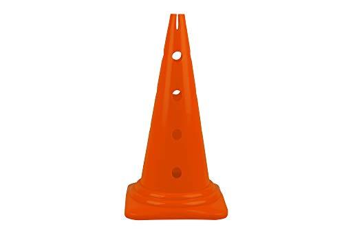HAEST Sehr großes standfestes Hütchen mit Löchern - 52 cm - Orange