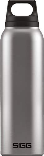 SIGG Hot und Cold Brushed Thermo Trinkflasche (0.5 L), schadstofffreie und isolierte Trinkflasche, auslaufsichere Thermo-Flasche aus Edelstahl