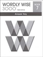 wordly wise 3000 book 7 answers online
