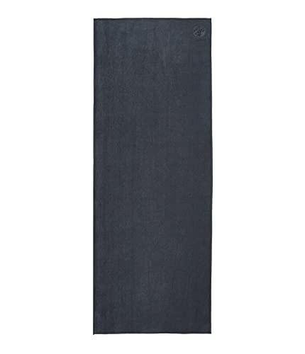 Manduka eQua Yoga Mat Towel, Absorbent, Quick Drying, Non-Slip for Yoga, Gym, Pilates, Outdoor Fitness