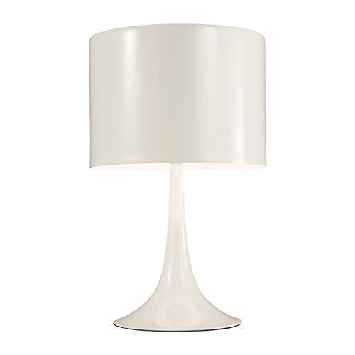YI0877CHANG Lamparilla de Noche Estilo Moderno Salón Dormitorio Mesita de luz Blanca de la lámpara Inicio lámpara de Mesa de Estar Lámpara Mesilla