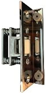 Rockwood 593-625 Roller Latch with Angle Stop - Polished Chrome Plated Brass