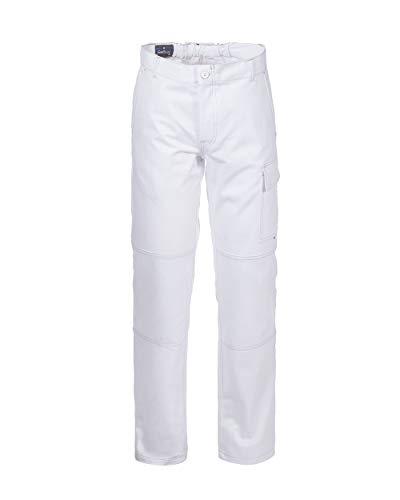 Rossini Trading Serio Plus+, Pantalone Unisex – Adulto, Bianco, L