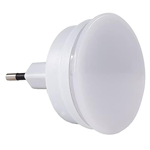 REV 003371111 Nachtlicht, LED Nachtlampe 230V, 50Hz, 0,2W, Leuchtfarbe blau, Gehäuse weiss