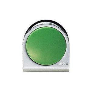 (業務用10セット)プラス カラーマグネット クリップ 大 緑 ds-1471648