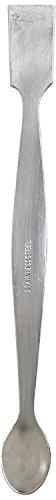 Ajax Scientific LA162-0000 - Espátula de acero inoxidable para laboratorio (doble punta, 200 mm)