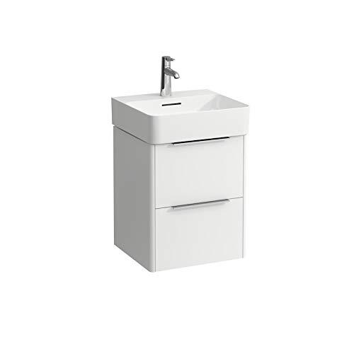 Laufen Base für Val Waschtischunterschrank, 2 Schubladen, für Waschtisch 815281, Farbe: Weiß glänzend