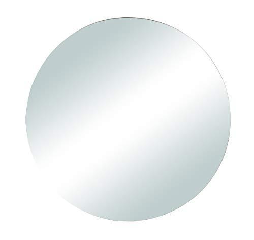 Rayher 46452000 Spiegelplatte rund zum Selbstgestalten und Dekorieren, Spiegelteller für Tischdeko, 15 cm