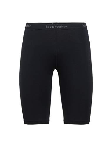 Icebreaker Damen 200 Zone Shorts, Black/Mineral, M