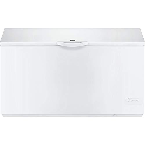 Zanussi ZFC51400WA Arcón congelador Ecotech+, Capacidad 500 Litros, Easylid, 3 cestos, Alarma luminosa, Mandos en el frontal, Blanco, Clase A+