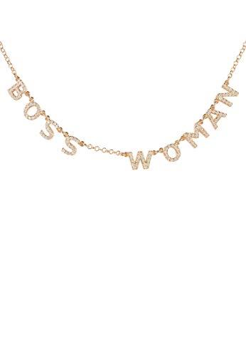 LATELITA Choker Boss Woman Necklace Rose Gold