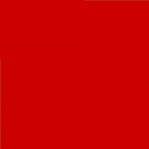 LEE Nr. 106 Primary Red/Rot - 24 x 24 cm transparente, hitzebeständige, farbige Farbfolie für Foto Studio PAR 64 Scheinwerfer - Gel Farbfilter Filter Folie (1 Stück, Lee 106 Primary Red)