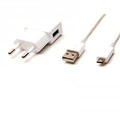 Samsung ETAOU81EWE - Cargador original para Samsung i9190 Galaxy S4 mini (incluye cable USB ECB-DU4AWE), color blanco
