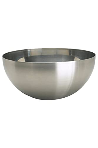 Ikea Blank Serving Bowl, Stainless Steel, Steel, 28 x 28 x 13 cm