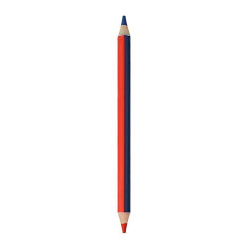 Legami BI0007 - Lápiz bicolor, rojo y azul