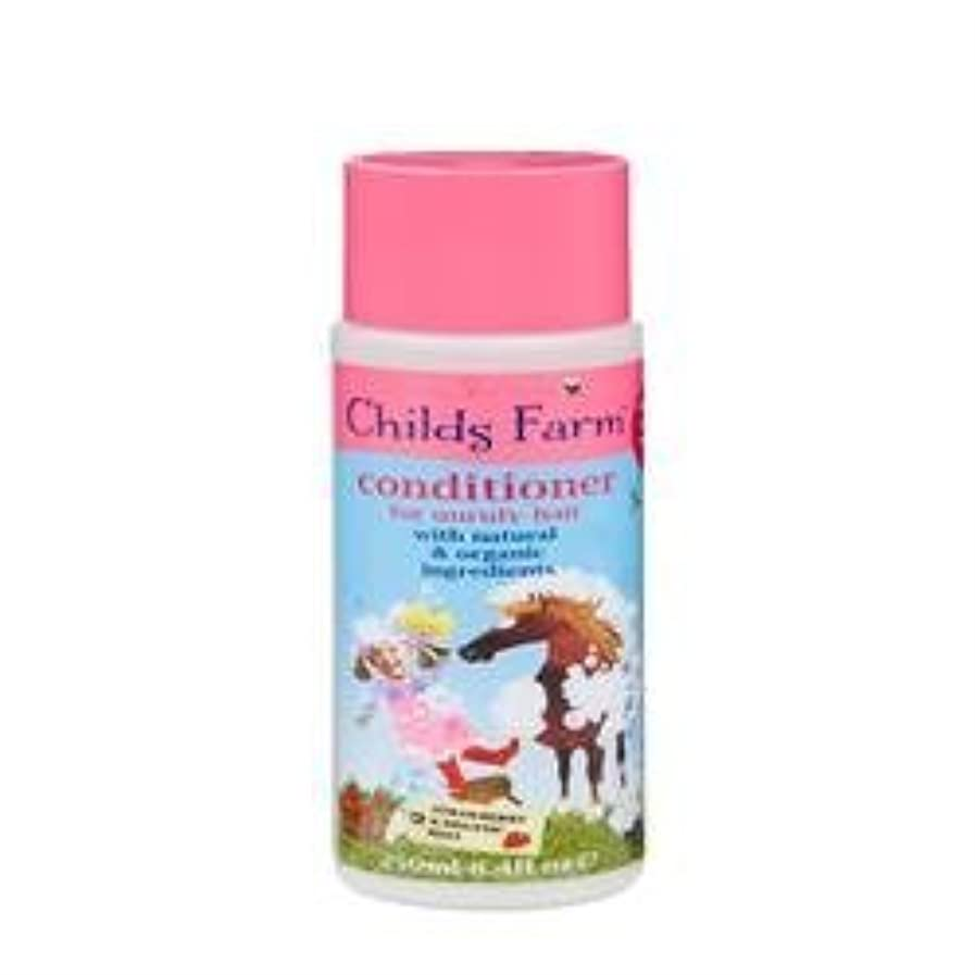 扱う心理的にウールConditioner for Unruly Hair (250ml) x 6 Pack by Childs Farm [並行輸入品]