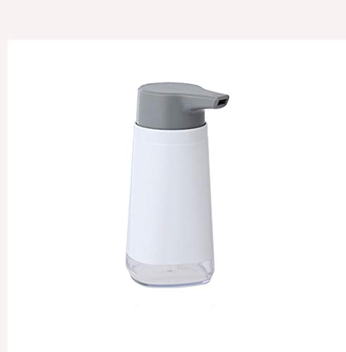 Tvålpump Tvålpump för flytande tvål High-end hand sanitizer tvål dispenser shampoo flaska lämplig för badrum bänkskivor kök tvättstuga (vit) Tvåldispenser Flytande tvåldispenser