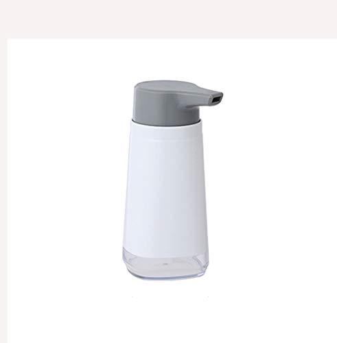 Dispenser di Sapone Bottiglia di shampoo del distributore del sapone del sanitizer della mano di fascia alta bottiglia di shampoo adatta per i controsoffitti del bagno Cucine della lavanderia (bianco)