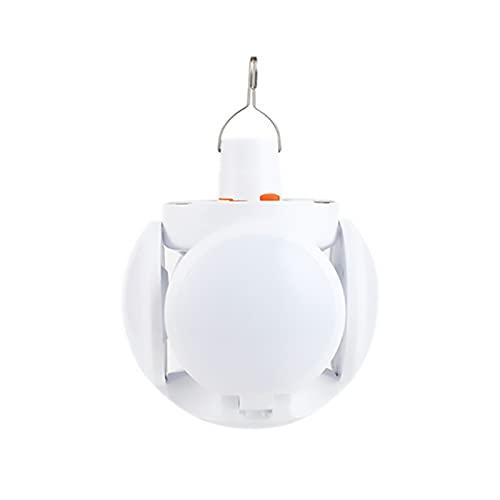 Camping Solar LED LED Recargable Bulbo Plegable Super Linterns Luces Luz de Mercado al Aire Libre para Colgar (Emitting Color : 2029 Solar Models)