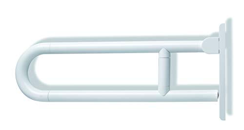 HEWI Stuetzklappgriff Serie 801 L:700mm reinweiss 801.50.210 99